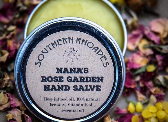 Nana's Rose Garden Hand Salve