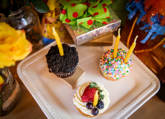 Hand-Dipped Birthday Candles
