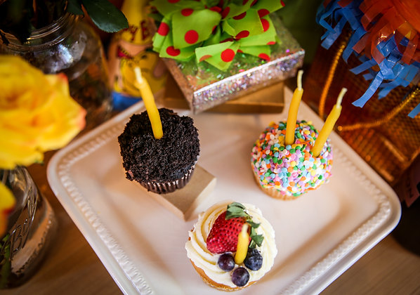 Hand-Dipped Birthday Candles - Pack of 6