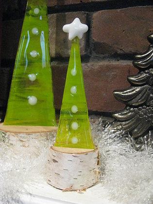 Spring Green Christmas Tree -Small