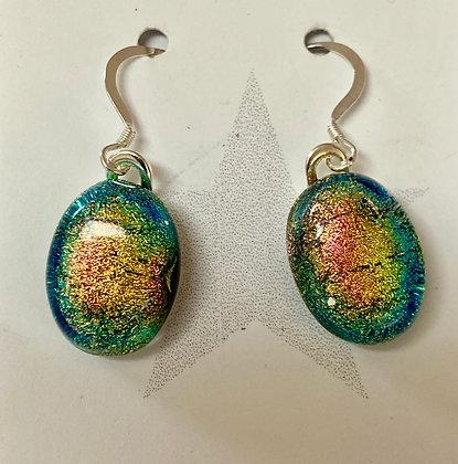 Opalescent Oval earrings