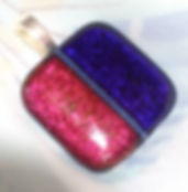 Handcrafted fused glass jewelry