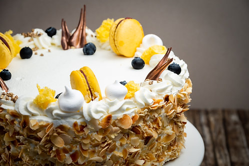 Bourbon Vanília torta (Cukormentes)