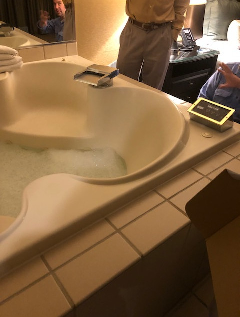 Itf prevents bathtub overflow tested at mgm
