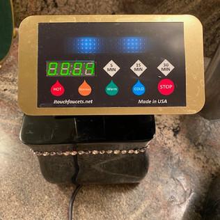 Preset temperature and timer
