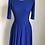 Thumbnail: Vestido azul royal vintage