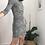 Thumbnail: Mini vestido preto e branco