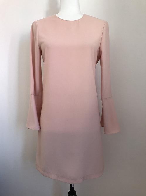 Vestido rosa claro