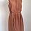 Thumbnail: Vestido marrom com pregas