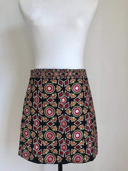 Mini saia colorida