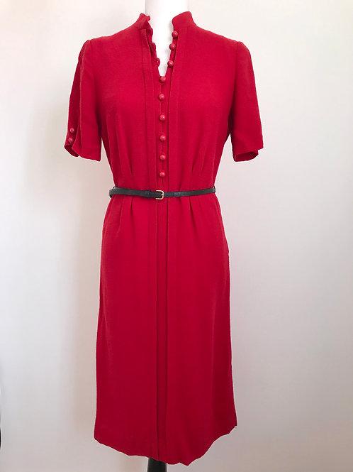 Vestido vintage vermelho