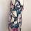 Thumbnail: Vestido floral com abertura lateral