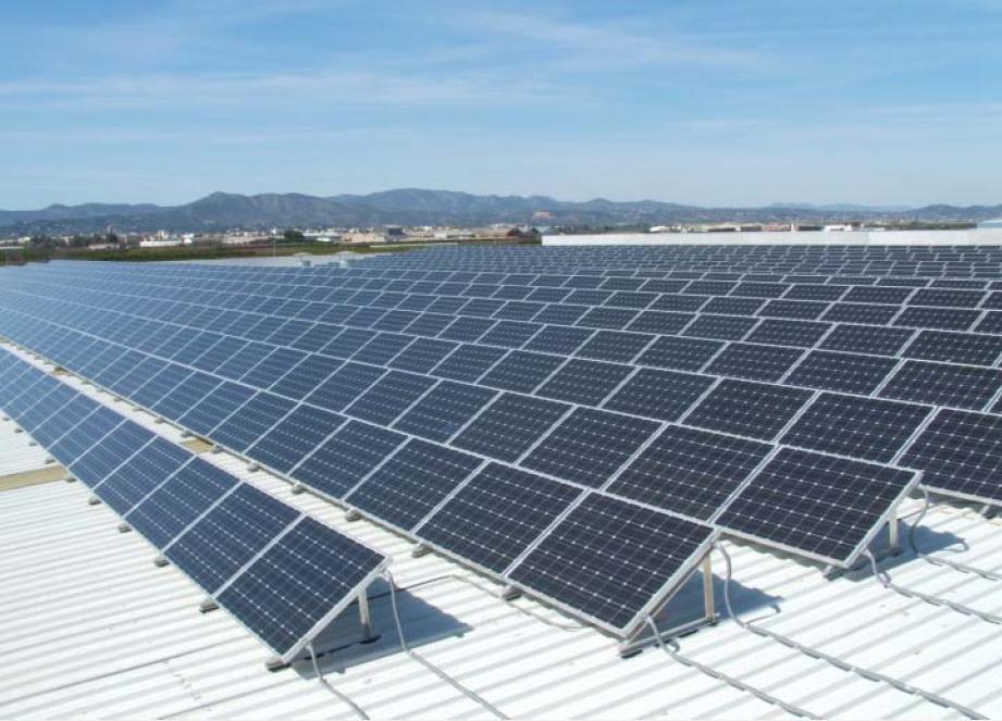 Cubierta fotovoltaica