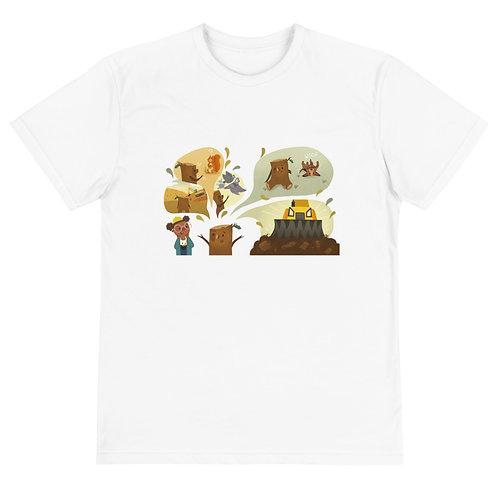 Do You Speak Tree? Oakie's Story Sustainable T-Shirt