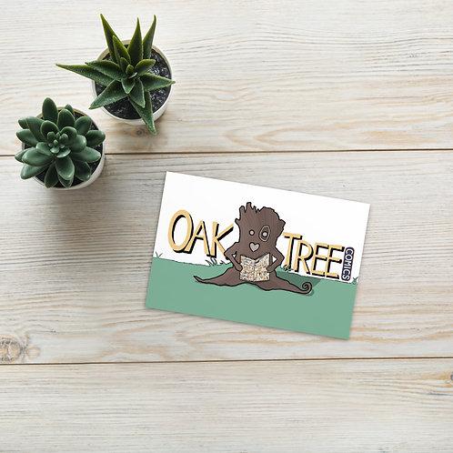 Vintage Oakie Postcard