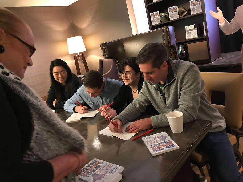 Did You Boscov Today? book signing with Josh, Amelia, Jonah and Chloe
