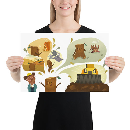 Do You Speak Tree? Oakie's Story Poster