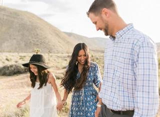 Desert Inspired Family Session