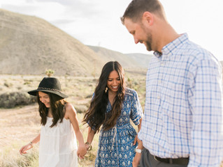 Desert Inspired Family Session