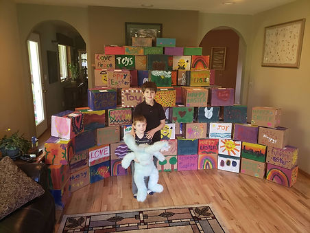Kitsap Daily News - Local nonprofit donates 200 boxes of toys to kids fighting cancer on Easter