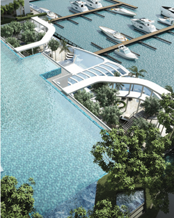 Infinity Pool and Marina