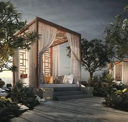 Modern Tropical Cabana