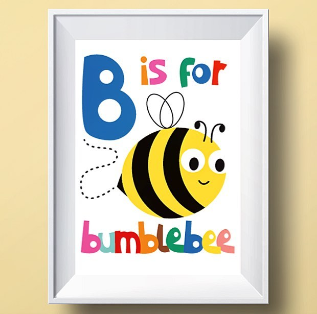 ABC B is for Bumblebee