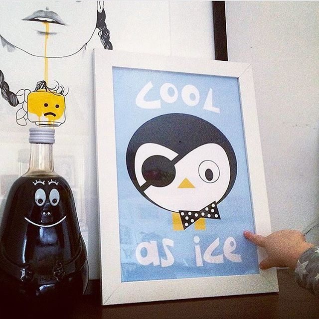 Cool as Ice Nursery Print