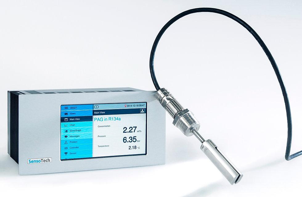 LiquiSonic® OCR measuring systems of Sen