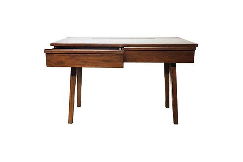 โต๊ะทำงาน modern teak