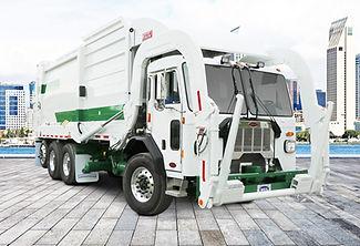 halfpack-sierra-frontload-garbage-trucks