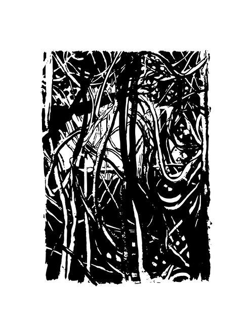 A Tangled Web - Screen Print