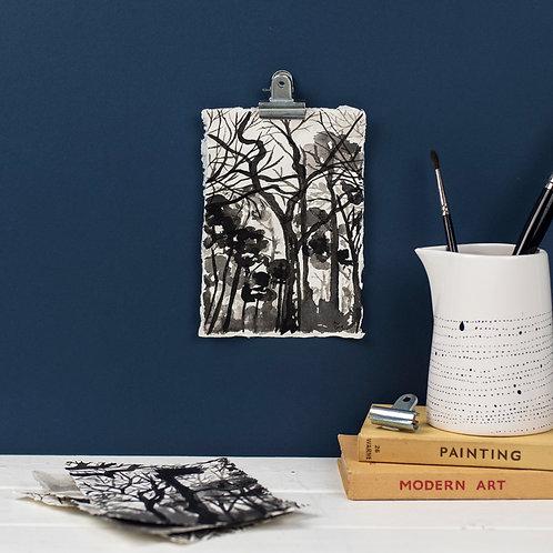 Black Park - Ink on Paper