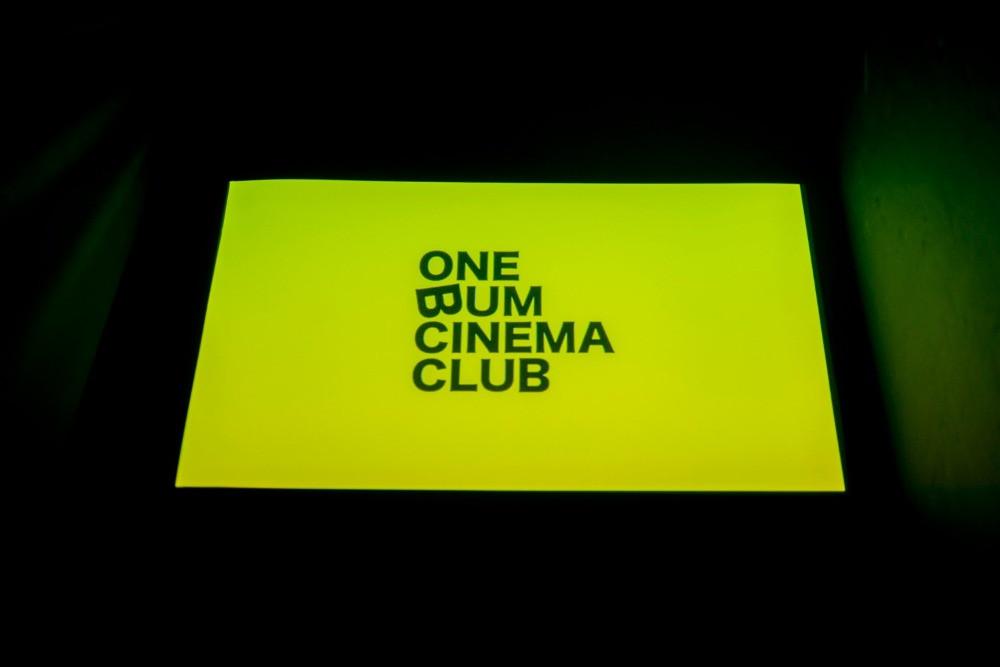 One Bum Cinema Screen