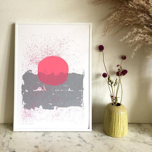 Sun Splatter - Screen Print