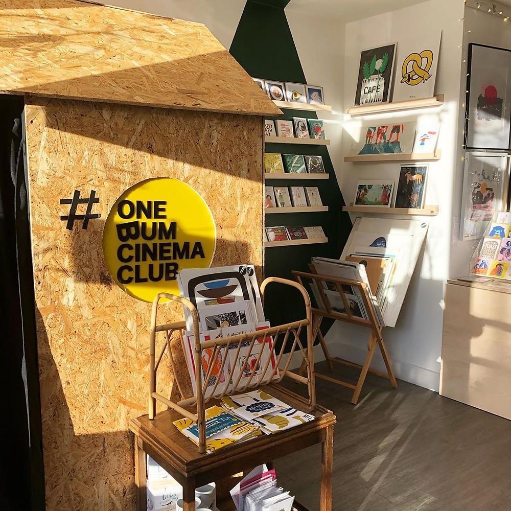 One Bum Cinema at FOUND shop and studio