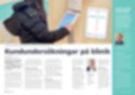 Artikel i personaltidningen för Folktandvården Västra Götaland
