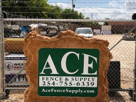 ACE Fence + Boulder Designs