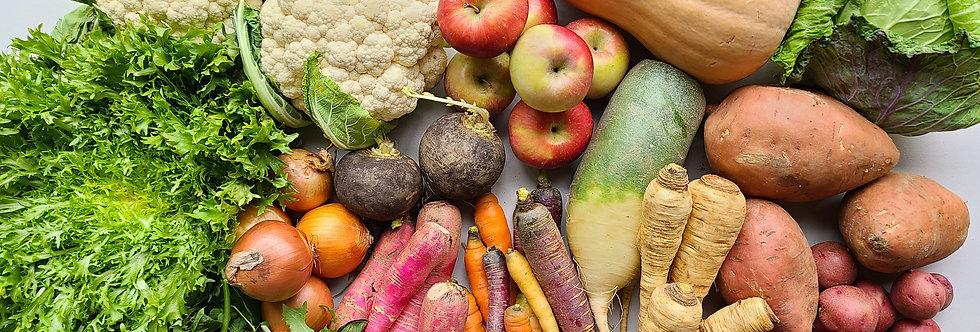 Organic Produce Box ~ Seasonal