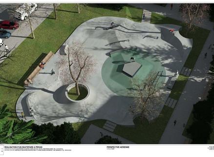 Le plan du skate-park dévoilé