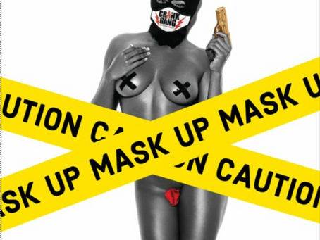 "NEW RELEASE FROM NEW IMPRESSIONZ ""MASK UP"""