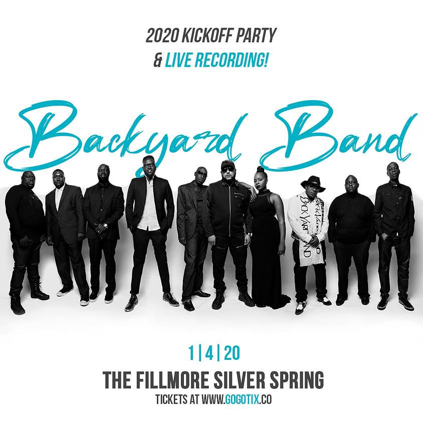 Backyard Band | 2020 KICKOFF PARTY & LIVE RECORDING