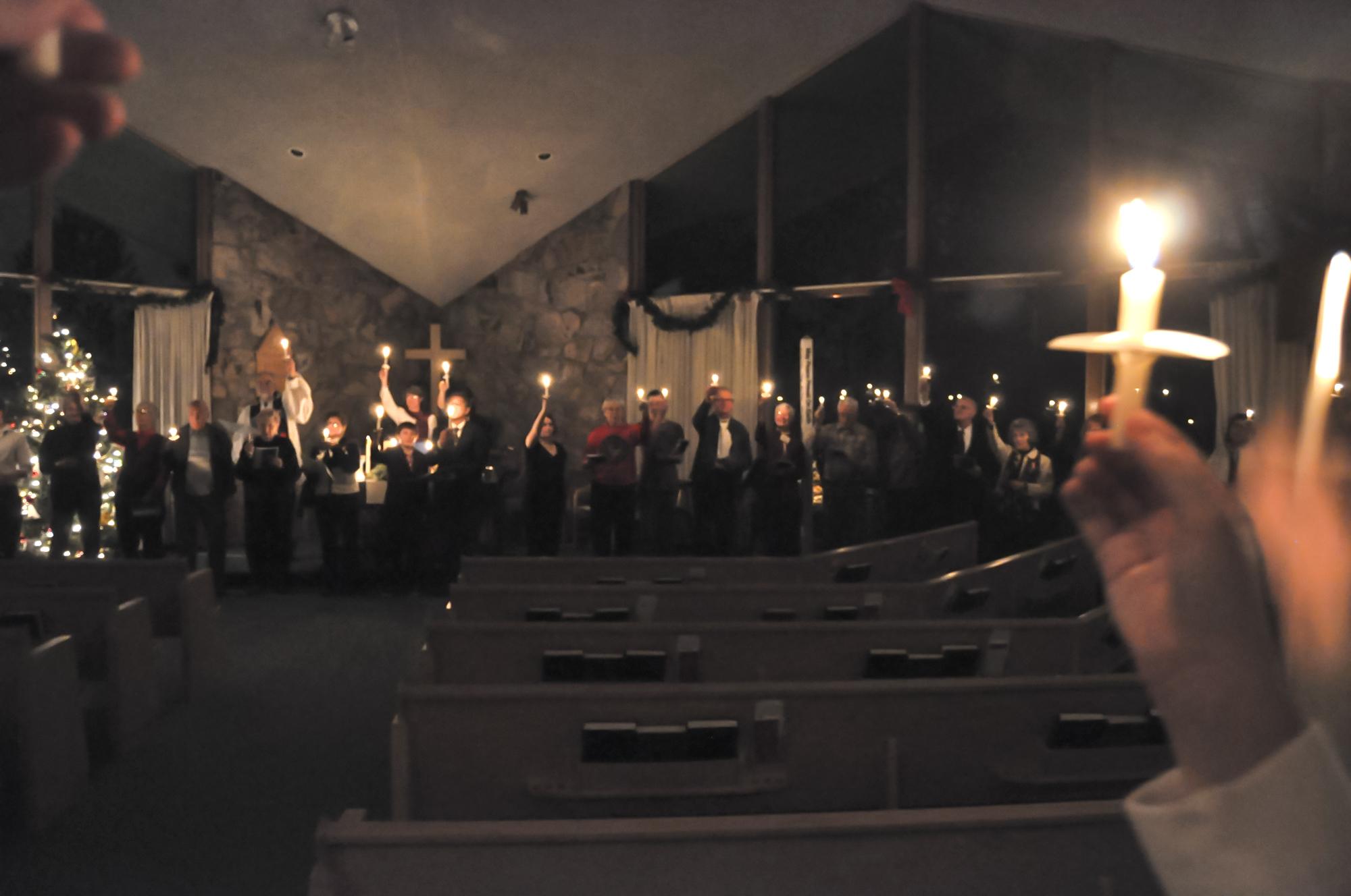UCC xmas candles