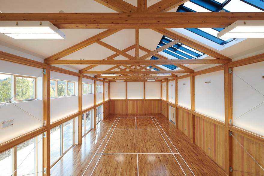 Strathdearn Community Hub [interior]