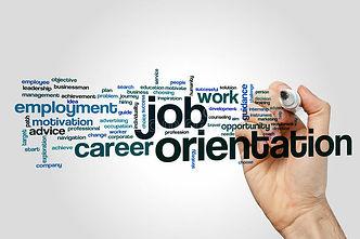 job-orientation-word-cloud-concept-grey-
