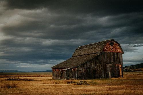 """""""Stormy Barn""""- Digital File"""