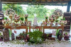 Mesa do Bolo Casamento