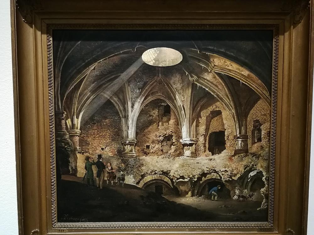 'Het Zuidwestelijk bolwerk van Kasteel Vredenburg te Utrecht 1826'
