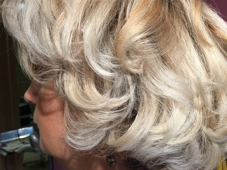 Blond lumineux