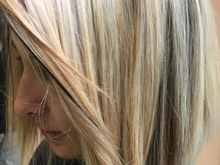 Blond clair et lumineux